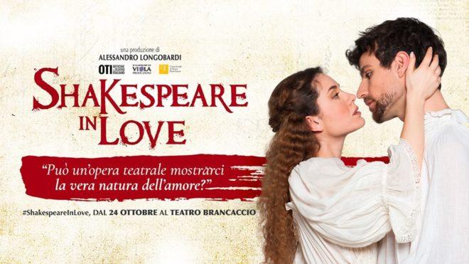 Shakespeare in Love al Teatro Brancaccio fino all'11 novembre