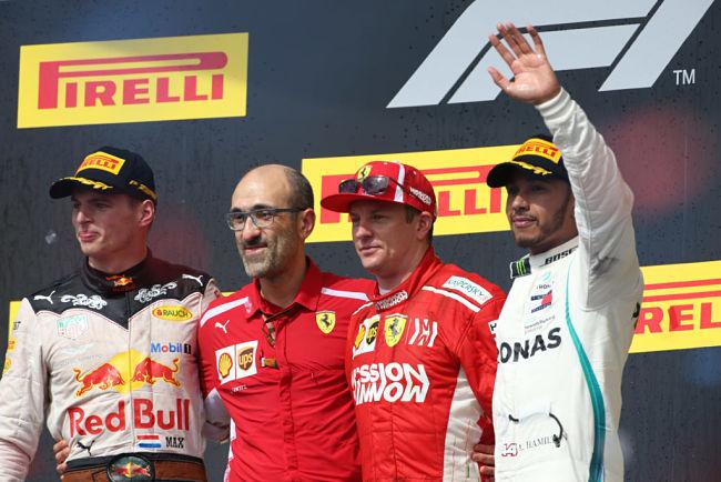 GP Stati Uniti: uno splendido Raikkonen regola Verstappen ed Hamilton