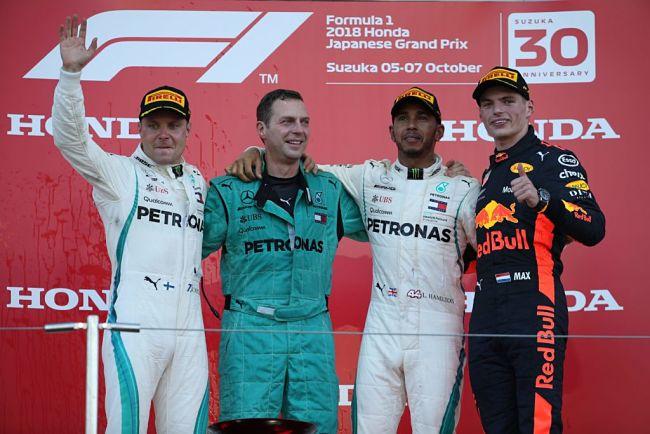 GP Giappone: Hamilton si avvicina al Mondiale