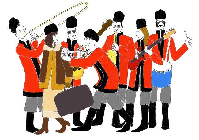 Ottavo Richter play Russia con Ira Rubini e colbacchi