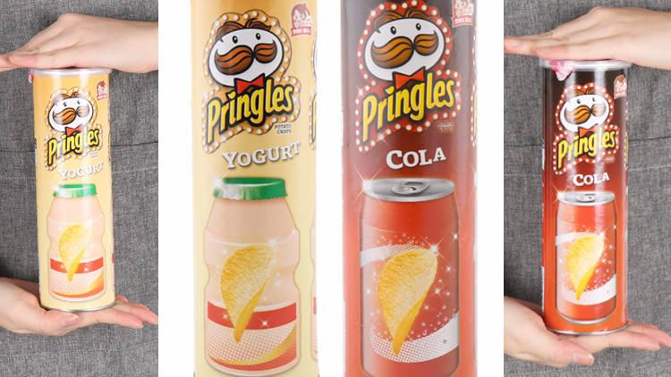 Pringles alla cola e allo yogurt, sono approdate in Corea del Sud