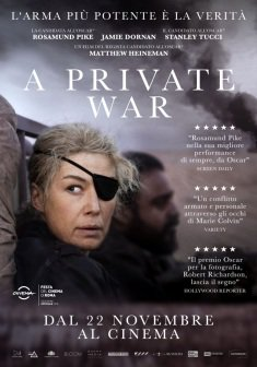 A private war | la storia di Marie Colvin