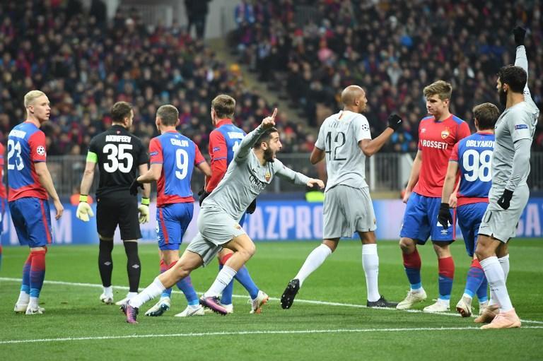 La Roma supera l'ostacolo CSKA Mosca