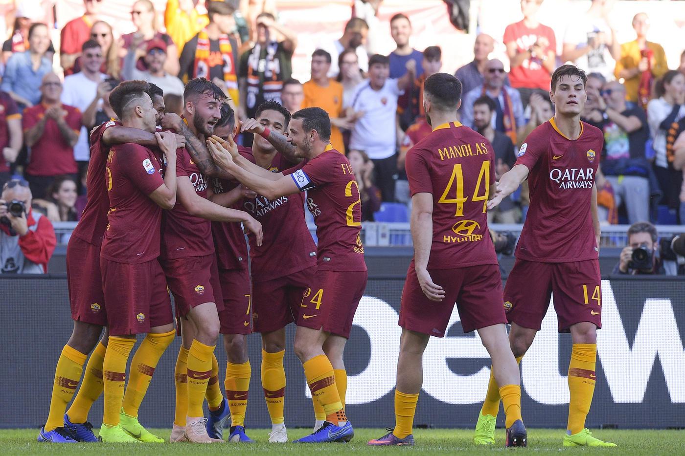 La Roma baby strapazza la Sampdoria 4-1