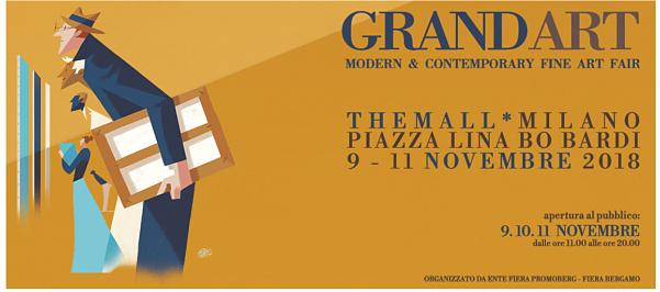 GrandArt a Milano, il ritorno della pittura figurata
