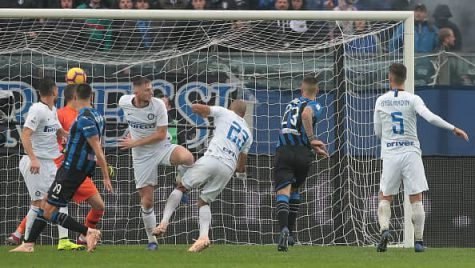 Inter irriconoscibile, becca quattro gol dall'Atalanta