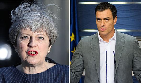 UE – Brexit: Madrid minaccia di porre il veto all'accordo