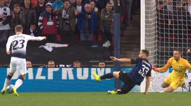Champions League: Inter beffata. Eriksen rimette in corsa il Tottenham