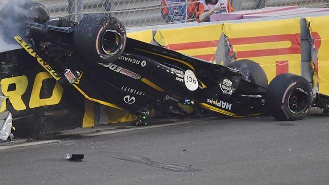 GP Abu Dhabi: Hamilton chiude in bellezza, brutto incidente per Hulkenberg