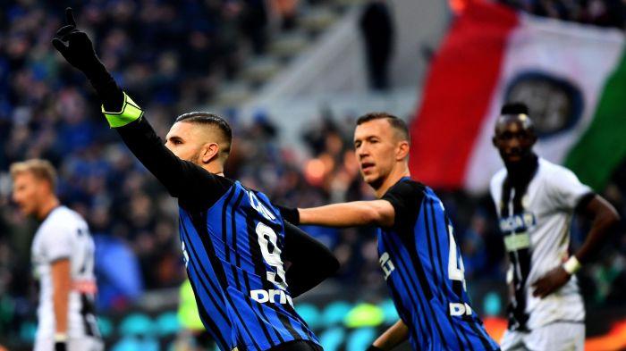 Icardi, colpo a cucchiaio. L'Inter guarisce e l'Udinese va k.o.