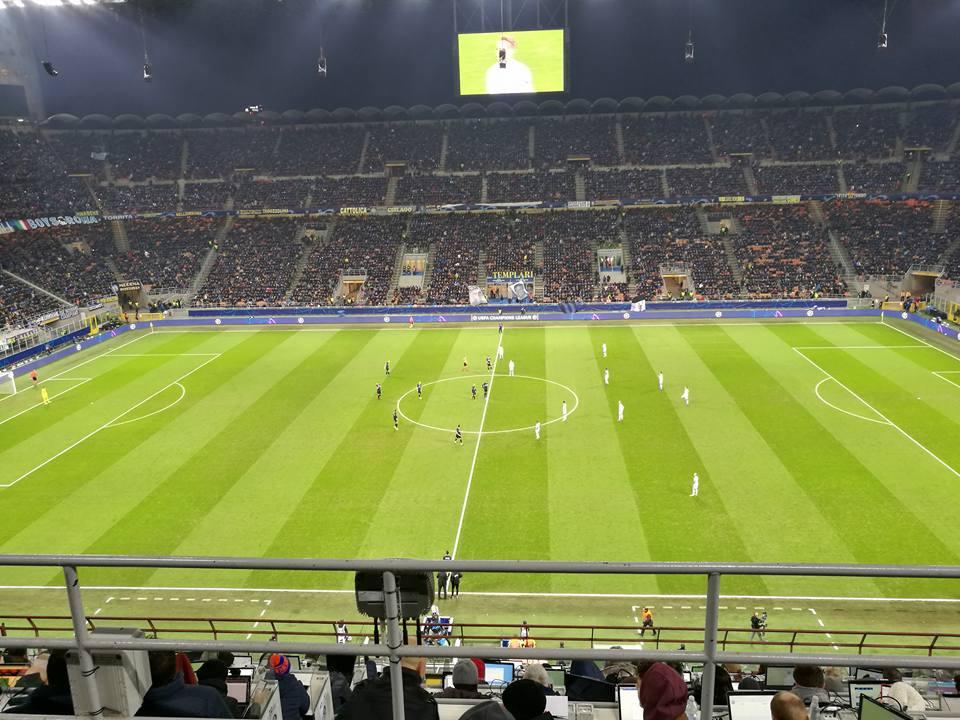 Champions League: beffa Inter, l'1-1 col PSV non basta