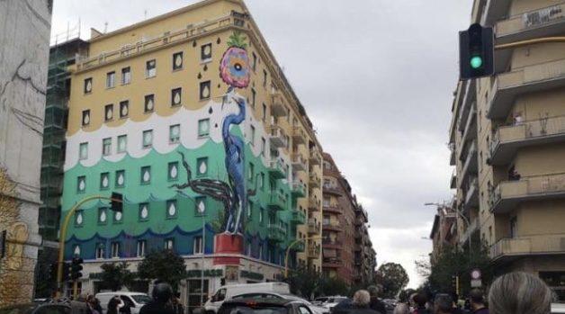 A Roma la pittura cattura lo smog