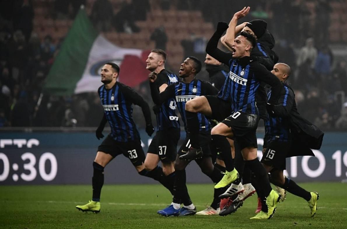 L'Inter vince e gode. Il Napoli si infuria…