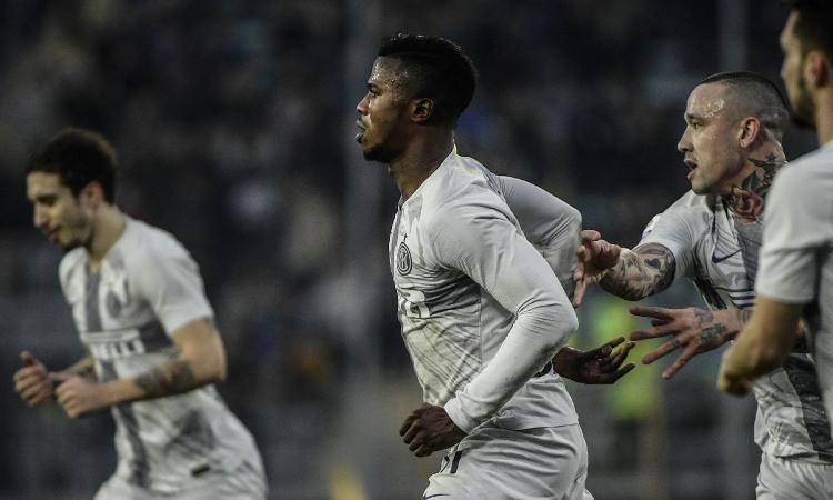 Inter stappa la vittoria ad Empoli. Decide Keita