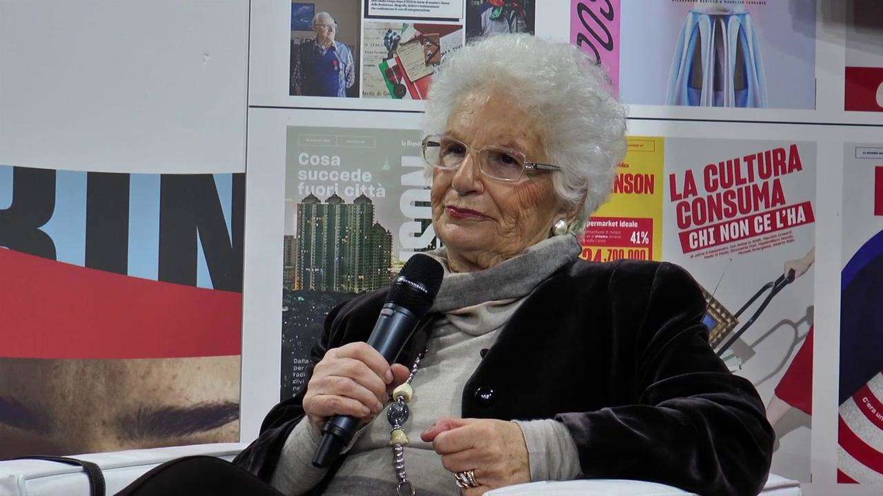 Liliana Segre sulla Memoria: dialogo con Damilano a Più libri più liberi