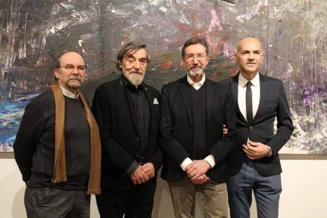 Grande successo della mostra personale di Ioan Sbarciu presso l'Accademia di Belle Arti di Brera di Milano