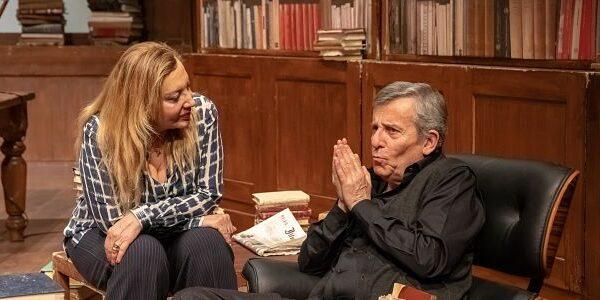 Maurizio Micheli e Iaia Forte