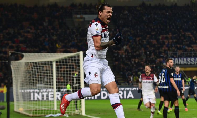 Inter – Bologna 0-1, Santander affonda i nerazzurri