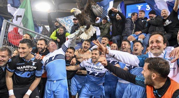 Derby – La Lazio batte la Roma e sale in paradiso