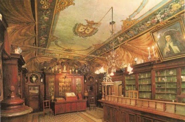 La più antica farmacia d'Europa si trova a Roma
