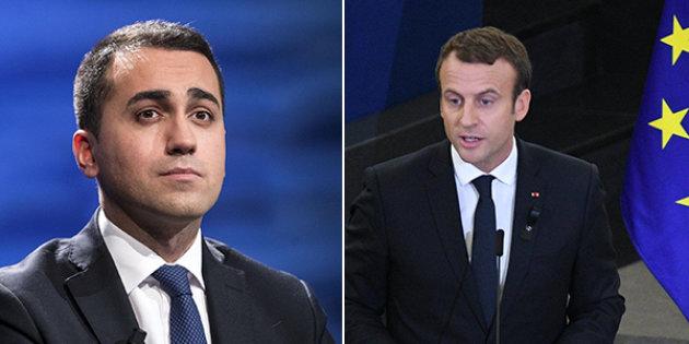 Un braccio di ferro diplomatico tra Macron e l'Italia