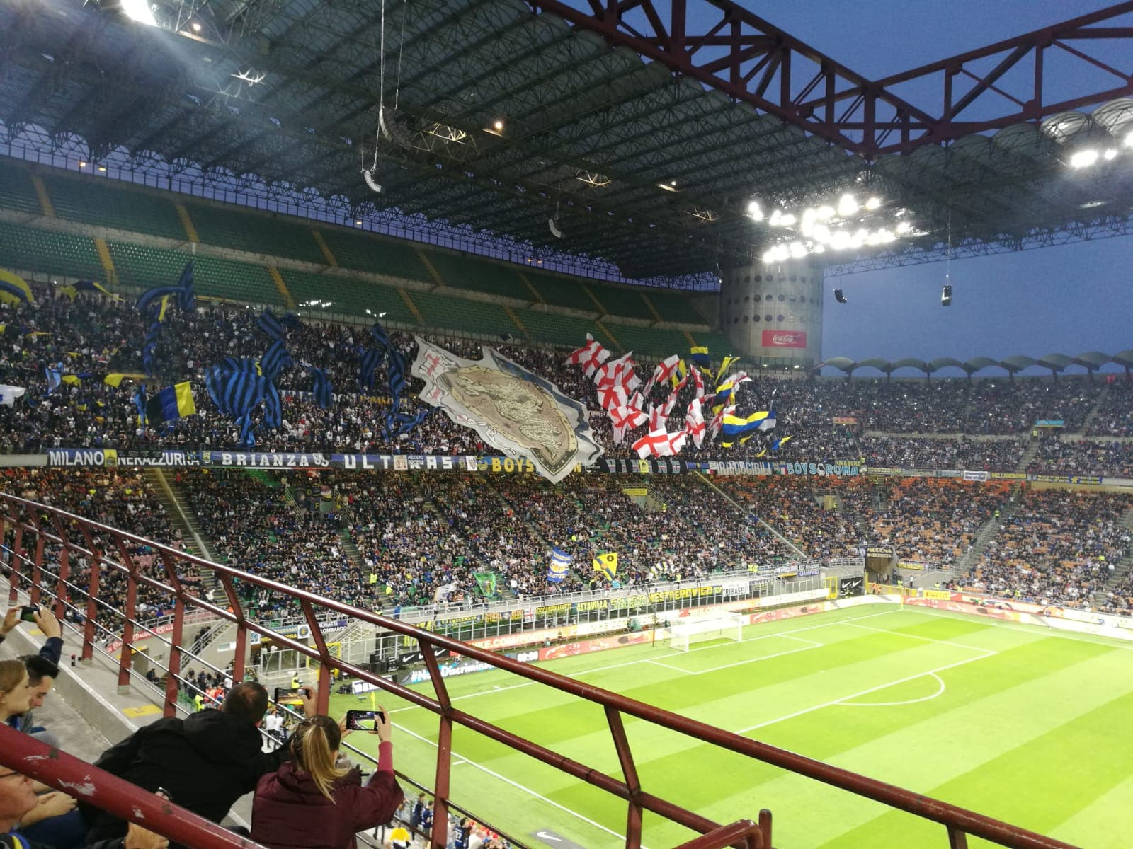 Inter – Roma 1-1, Perisic risponde a El Shaarawy