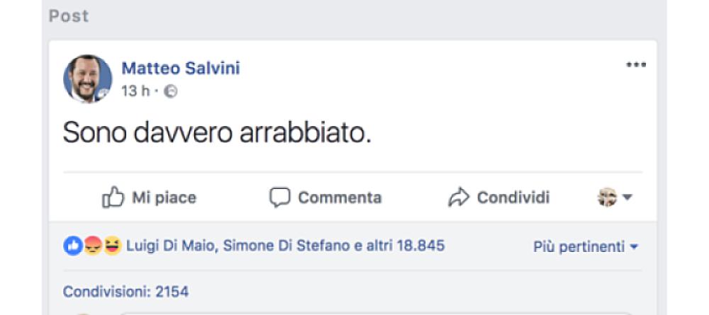 Maresciallo dei Carabinieri ucciso da un pregiudicato: il cordoglio che si fa propaganda