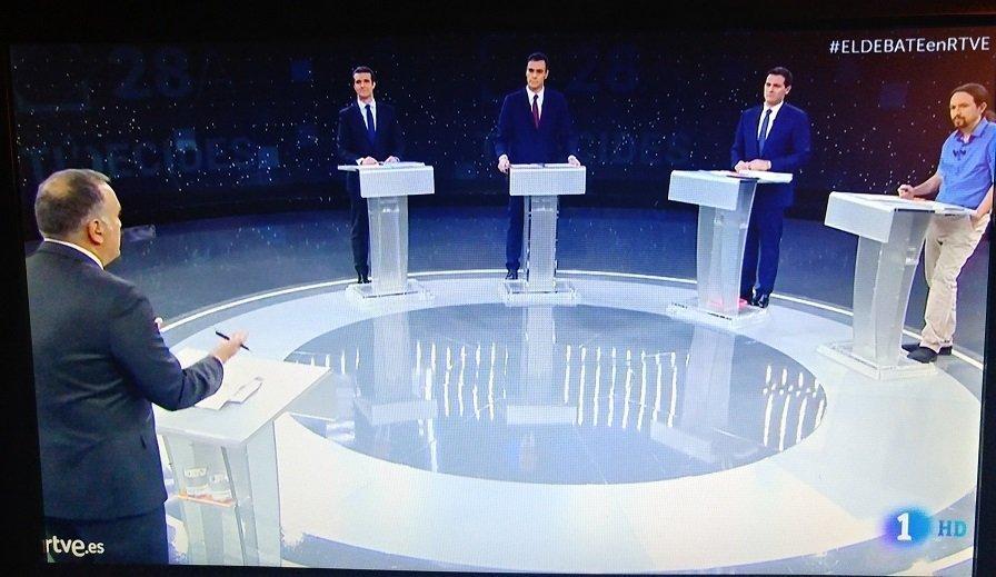 Dibattiti TV infiammano le Elezioni spagnole