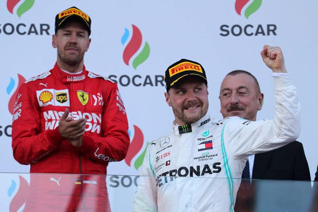 GP Azerbaigian: Bottas suggella la quarta doppietta Mercedes consecutiva