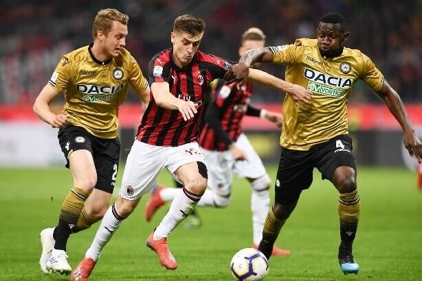 Milan – Udinese 1-1, altra frenata per i rossoneri
