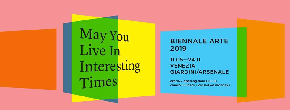 """Venezia dà il via alla 58. Esposizione Internazionale d'Arte """"May You Live in Interesting Times"""""""