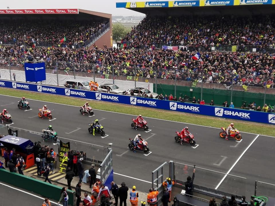 MotoGP, Le Mans: Marquez precede Dovizioso e Petrucci