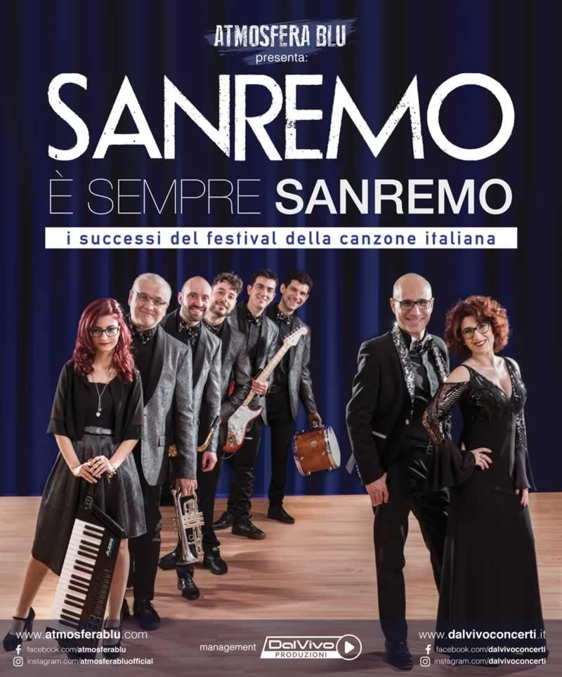 """""""Sanremo è sempre Sanremo"""", l'omaggio degli Atmosfera Blu al Festival"""
