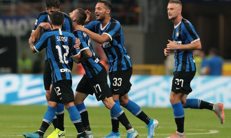 Inter show a San Siro, 4-0 al Lecce
