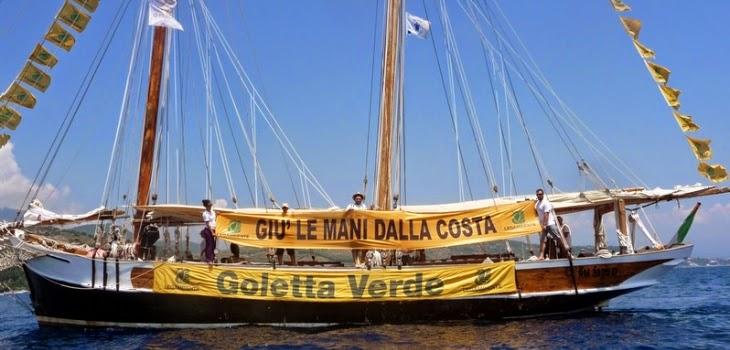 """Monitoraggio di Goletta Verde in Campania. """"Oltre la metà dei punti campionati supera i limiti di legge."""""""