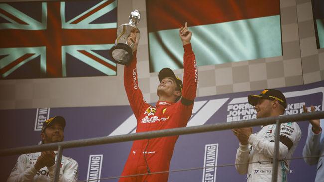 Gp Belgio: prima vittoria di Leclerc di un soffio su Hamilton