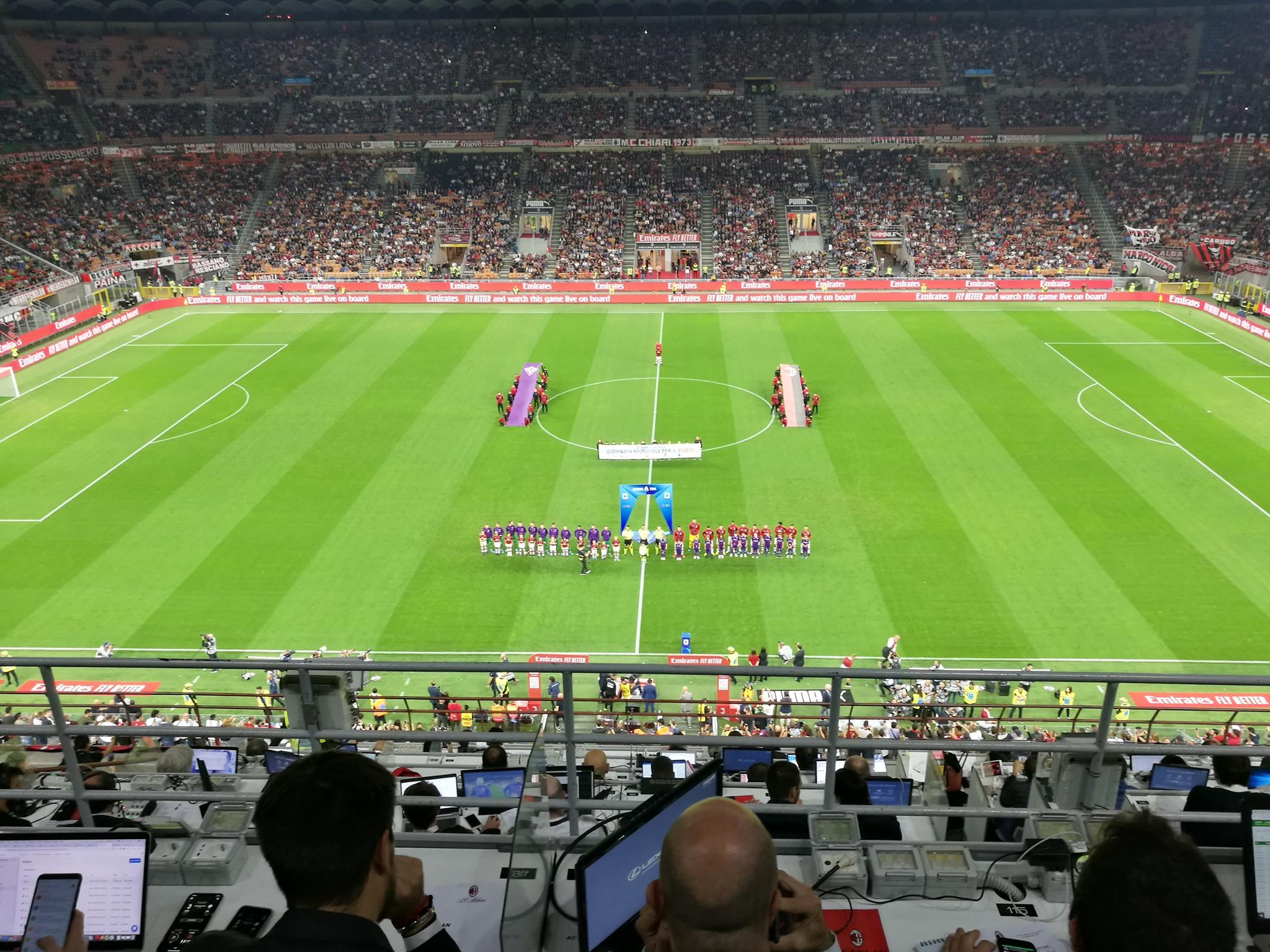 Milan a picco, la Fiorentina si impone 1-3