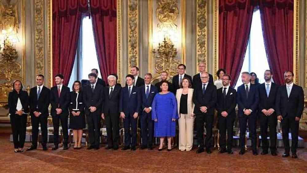I ministri del Governo Conte Bis