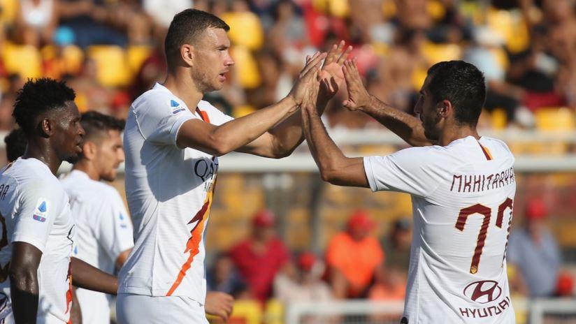 Al Via del Mare ci pensa Dzeko: Lecce – Roma 0-1