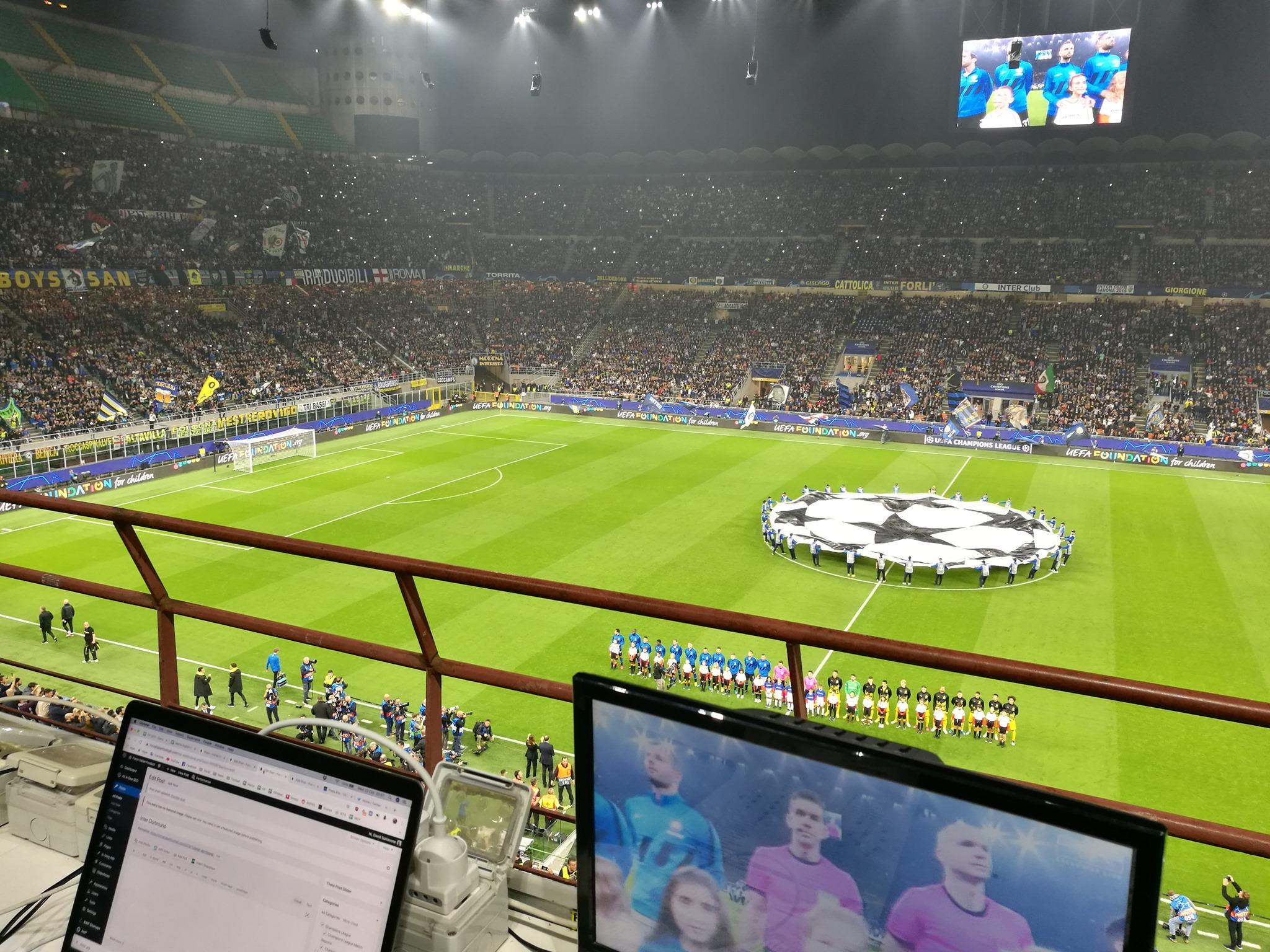 Champions: Inter – Borussia Dortmund 2-0, Lautaro e Candreva stendono i tedeschi