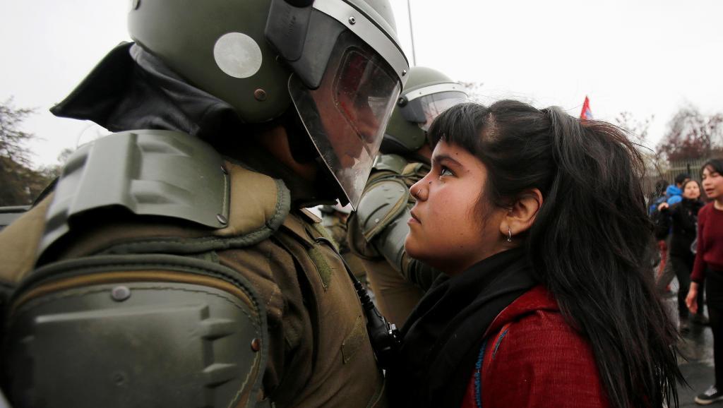 """CILE: il presidente Piñera afferma""""Siamo in guerra"""""""