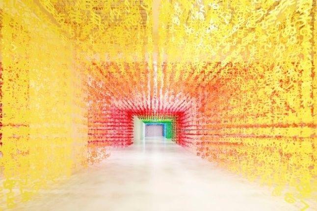 "Emmanuelle Moureaux e la serie 100 Colors: ""Universe of Words"", ""Forest of Numbers"", ""Color Mixing"""