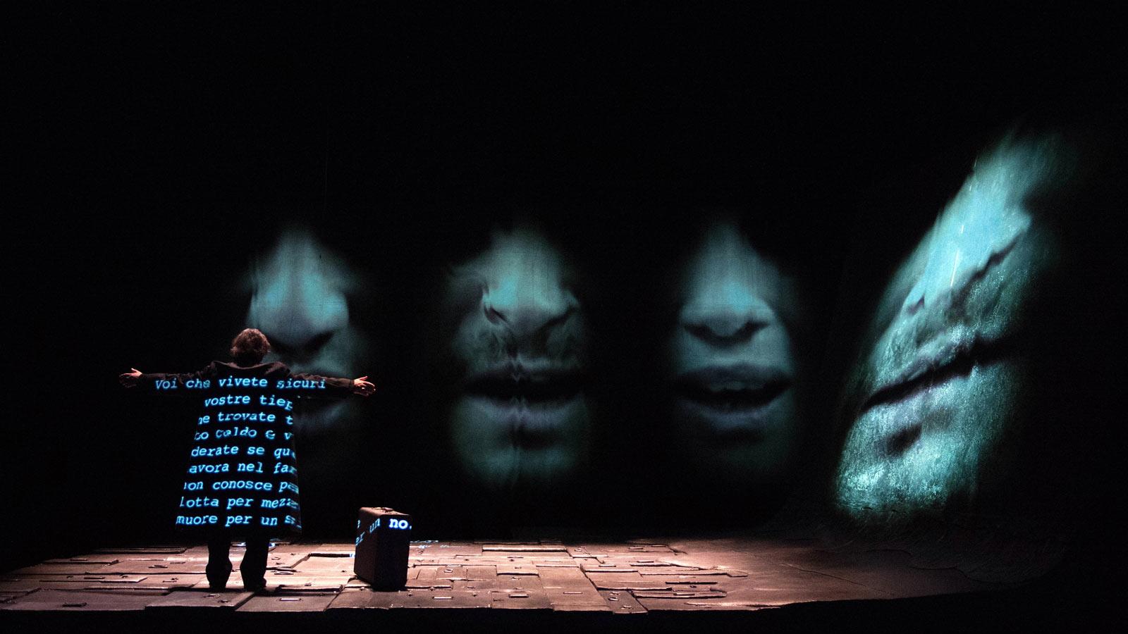 'Se questo è un uomo', al Teatro Argentina le parole di Primo Levi