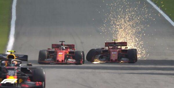 Incidente Vettel-Leclerc