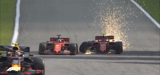 Gp Brasile: vince Verstappen, scontro Ferrari tra Vettel e Leclerc