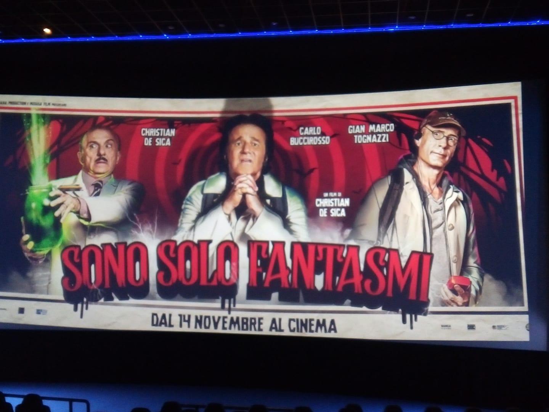 """""""Sono solo fantasmi."""" Il film di De Sica  presentato al Metropolitan di Napoli"""