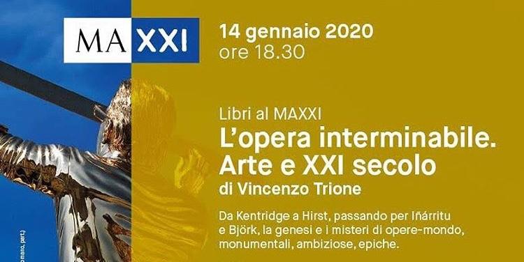 """""""Una flanerie interminabile"""". Vincenzo Trione presenta al MAXXI di Roma il suo nuovo libro."""