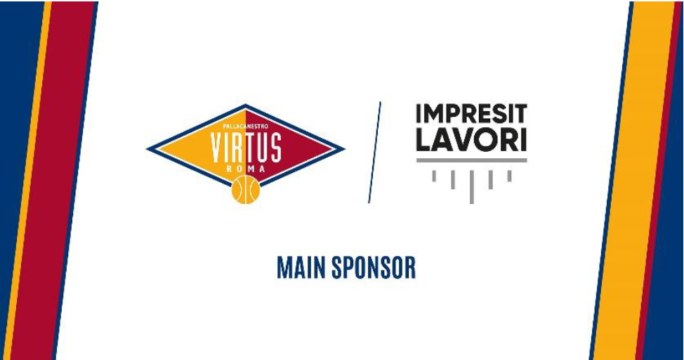 La Virtus Roma presenta il nuovo sponsor: Impresit Lavori