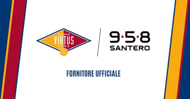 La Virtus Roma ha un nuovo partner: 958 Santero