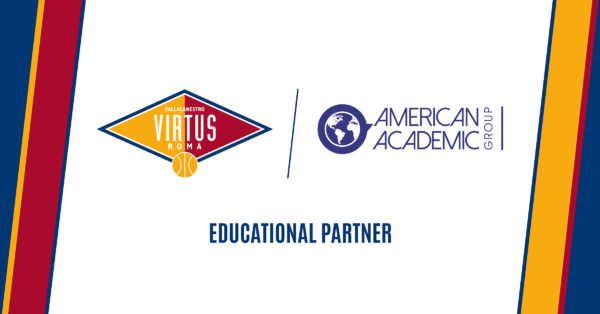 La Virtus Roma ha un nuovo partner: l'American Academic Group